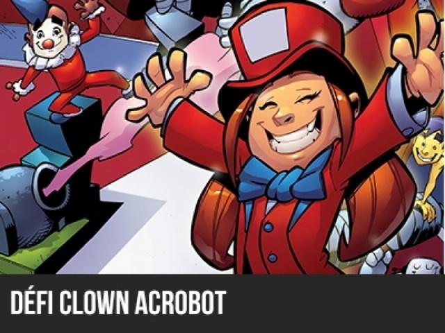 Robocircus 2014 - Défi Clown Acrobot Junior