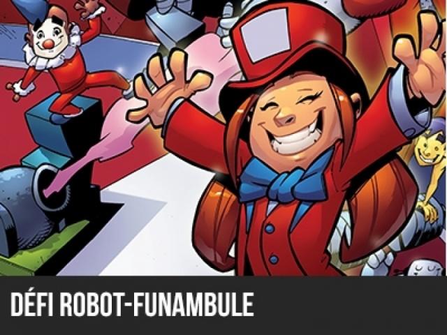 Robocircus 2014 - Robot-Funambule