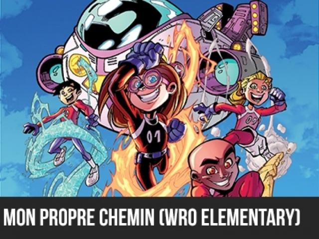 2016 - 5e élément - J4 Mon propre chemin - WRO Elementary